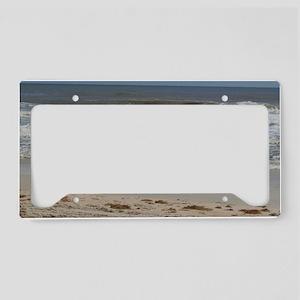 FlaglerBeach8_14x10FramedPrin License Plate Holder