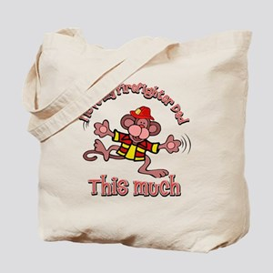 firefighter_dad Tote Bag