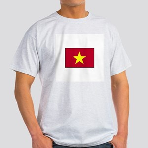 Vietnam Flag Ash Grey T-Shirt