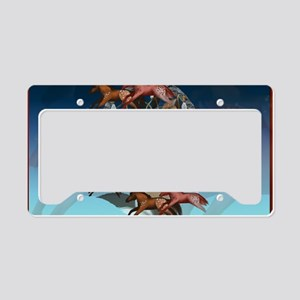 Dream Horses-Yardsign License Plate Holder