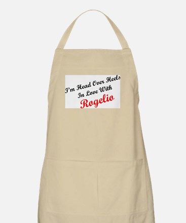 In Love with Rogelio BBQ Apron