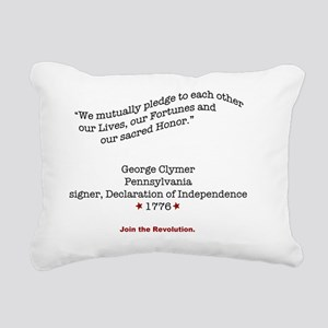 ClymerShirtBack Rectangular Canvas Pillow