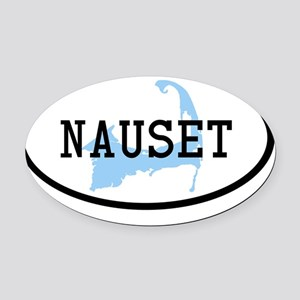 nauset Oval Car Magnet
