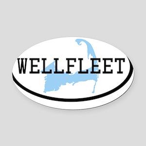 wellfleet Oval Car Magnet