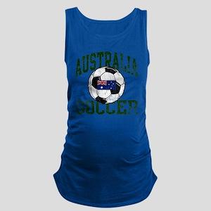 australia soccerballWHT Maternity Tank Top