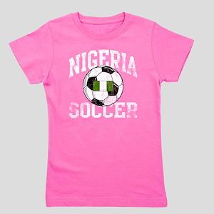 nigeria soccerballGRN Girl's Tee