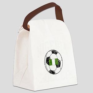 nigeria soccerballGRN Canvas Lunch Bag