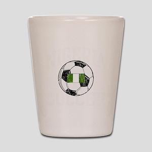 nigeria soccerballGRN Shot Glass