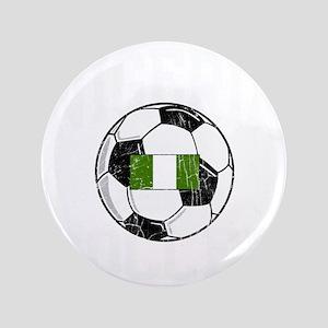 """nigeria soccerballGRN 3.5"""" Button"""