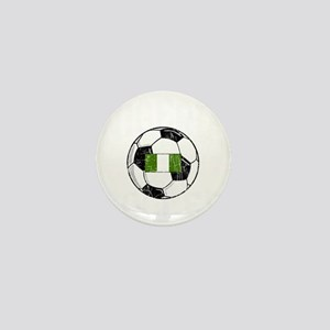 nigeria soccerballGRN Mini Button