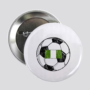 """nigeria soccerballGRN 2.25"""" Button"""