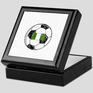 nigeria soccerballGRN Keepsake Box