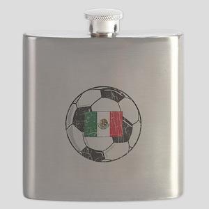mexico soccerballGRN Flask