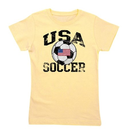usa soccerballWHT Girl's Tee