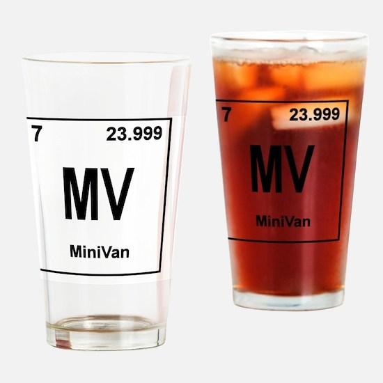 minivan Drinking Glass