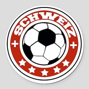 schweiz Round Car Magnet
