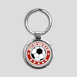 schweiz Round Keychain