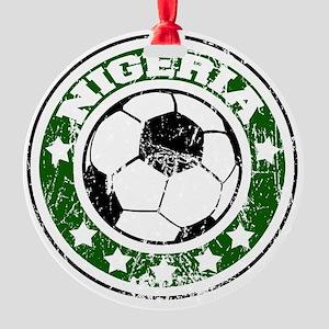 nigeriad Round Ornament
