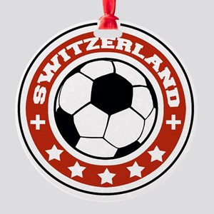 switzerland Round Ornament