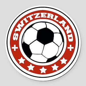 switzerland Round Car Magnet