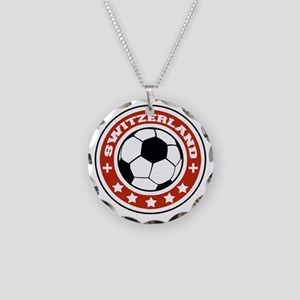 switzerland Necklace Circle Charm
