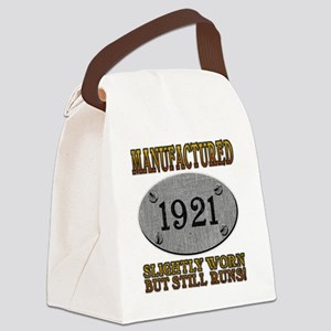 1921 Canvas Lunch Bag