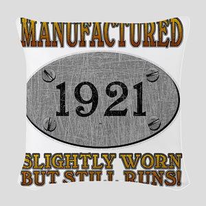 1921 Woven Throw Pillow