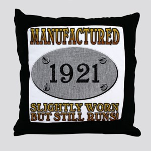 1921 Throw Pillow