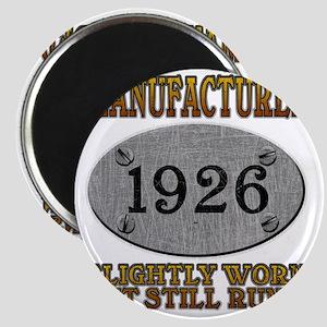 1926 Magnet