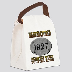 1927 Canvas Lunch Bag