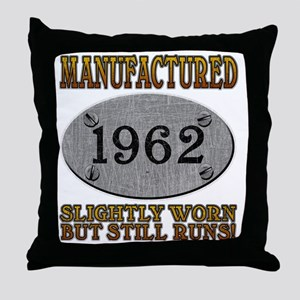 1962 Throw Pillow