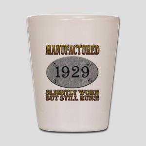 1929 Shot Glass