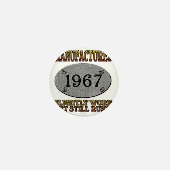 1967 Mini Button