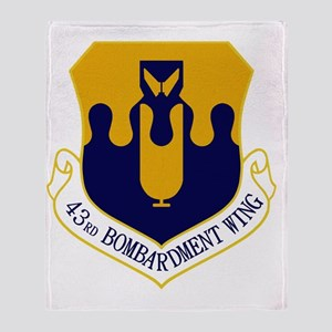 43rd Bomb Wing Throw Blanket