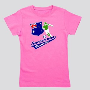 soccer player designs Girl's Tee