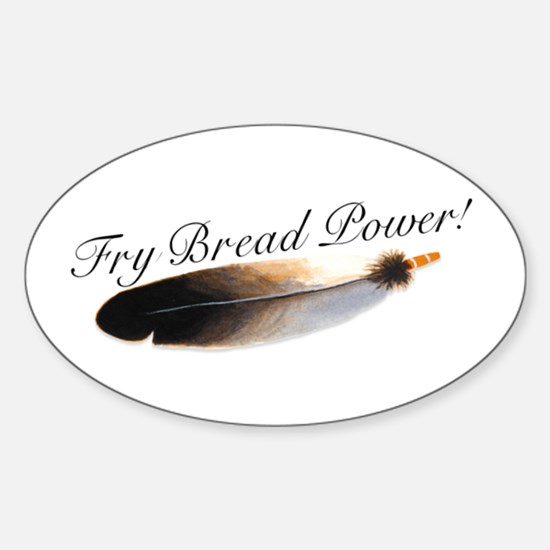 Fry Bread Power Oval Decal