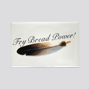 Fry Bread Power Rectangle Magnet