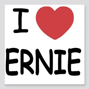 "ERNIE01 Square Car Magnet 3"" x 3"""