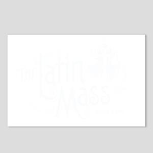 Latin_Mass_Dark Postcards (Package of 8)
