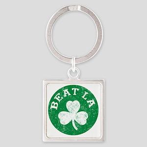 Beat LA Square Keychain