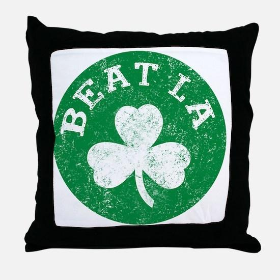 Beat LA Throw Pillow