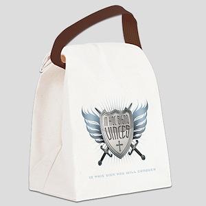 inHocSigno_Dark Canvas Lunch Bag