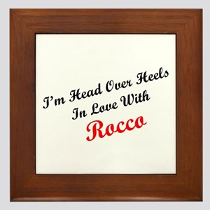 In Love with Rocco Framed Tile