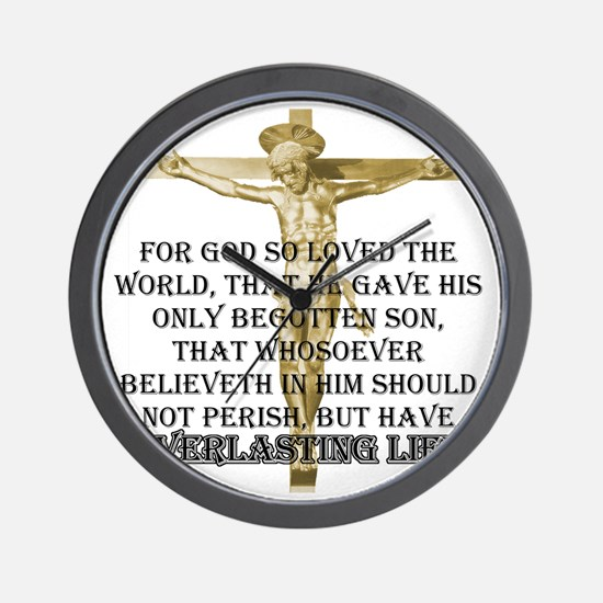 2-everlasting-life Wall Clock
