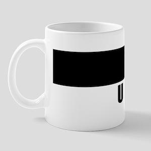 Bumper Sticker Art Uptown 10x3 Mug