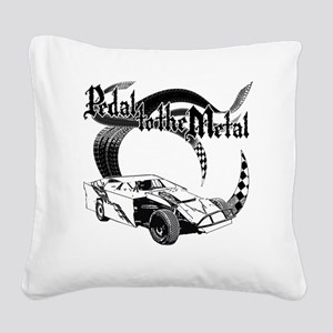 PTTM_DirtMod Square Canvas Pillow