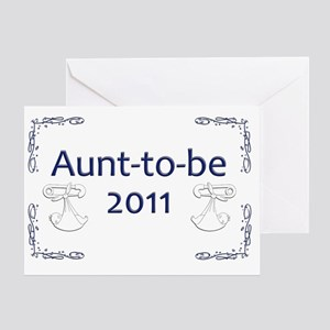 Yard_Aunt-to-be11 Greeting Card