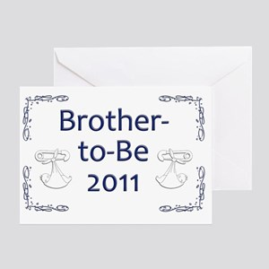 Yard_bro-to-be-11 Greeting Card