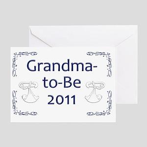 Yard_gma-to-be-11 Greeting Card