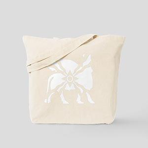 flag_and_lamassu Tote Bag
